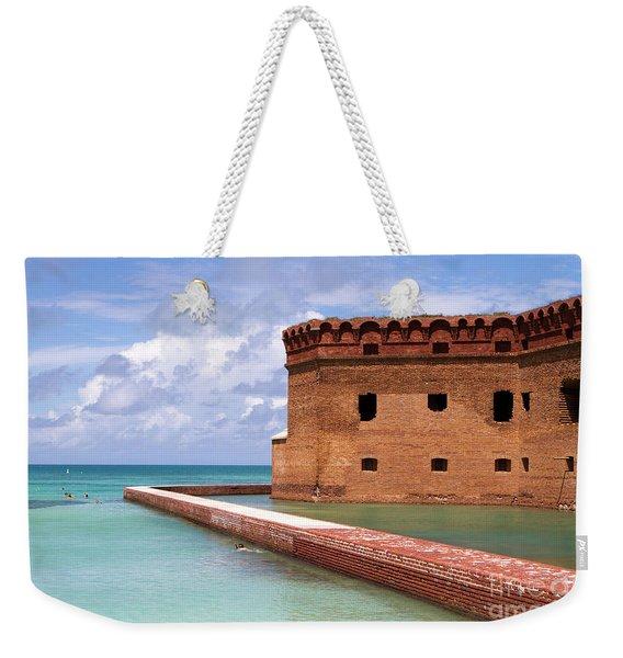 Snorkelers Fort Jefferson Weekender Tote Bag