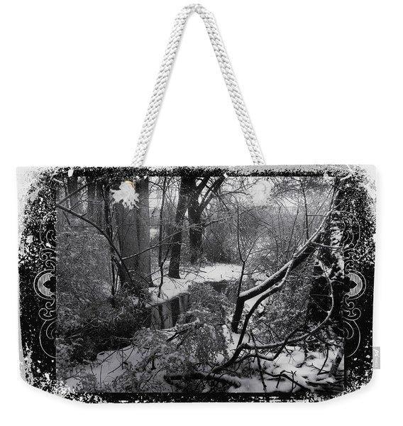 Snow 2018 Weekender Tote Bag