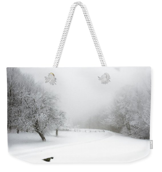 Snow Bound 2014 Weekender Tote Bag