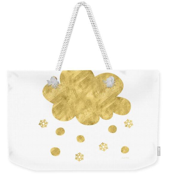 Snow Cloud- Art By Linda Woods Weekender Tote Bag