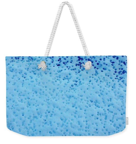 Snow Droplets  Weekender Tote Bag