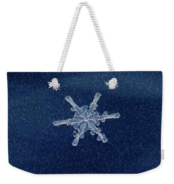 Snow Flake  Weekender Tote Bag