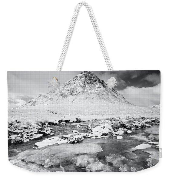 Snow In Glencoe Weekender Tote Bag