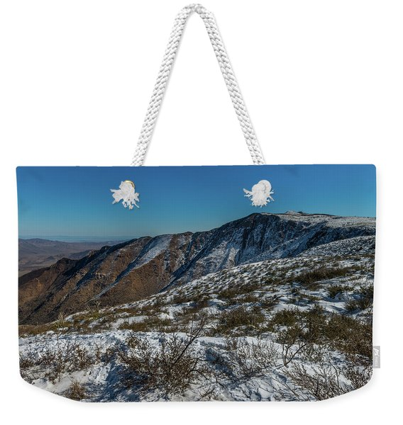 Snow In The Rain Shadow Weekender Tote Bag