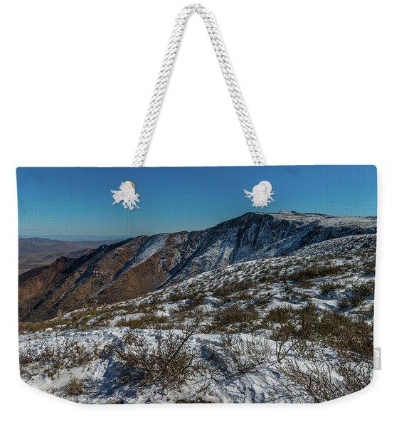 Snow In The Rain Shadow Weekender Tote Bag