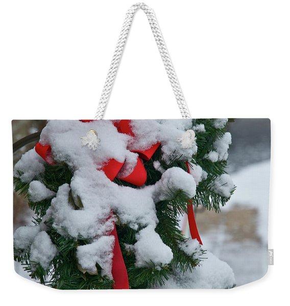Snow Latern Weekender Tote Bag