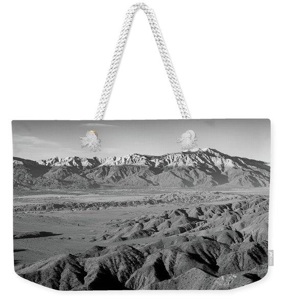 Snow Line Weekender Tote Bag