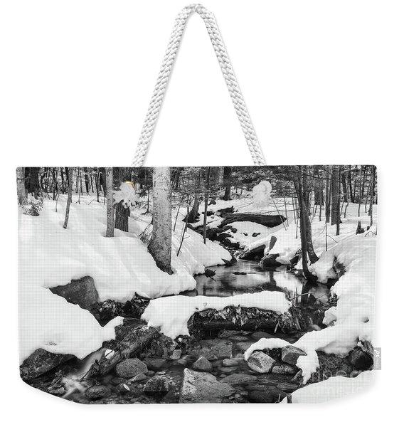 Snow Melt II Weekender Tote Bag