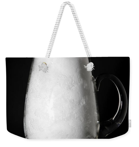 Snow Melting 1 Of 8 Weekender Tote Bag