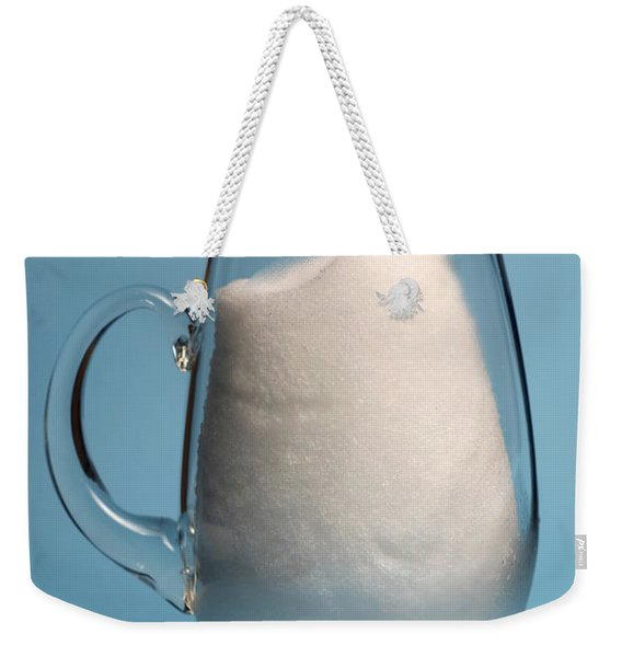 Snow Melting 2 Of 7 Weekender Tote Bag