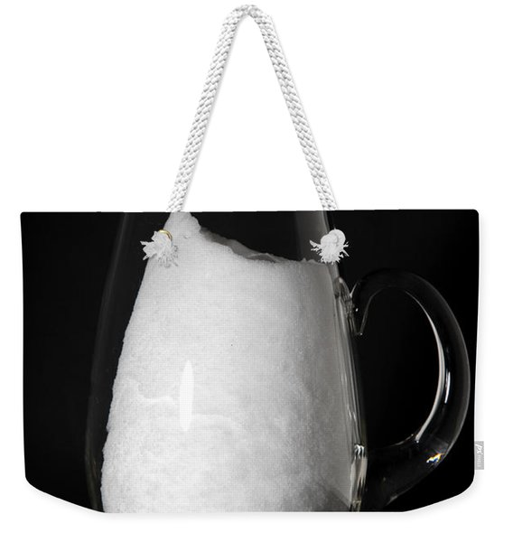 Snow Melting 2 Of 8 Weekender Tote Bag