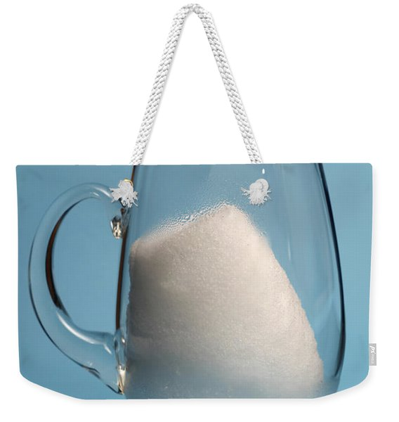 Snow Melting 3 Of 7 Weekender Tote Bag