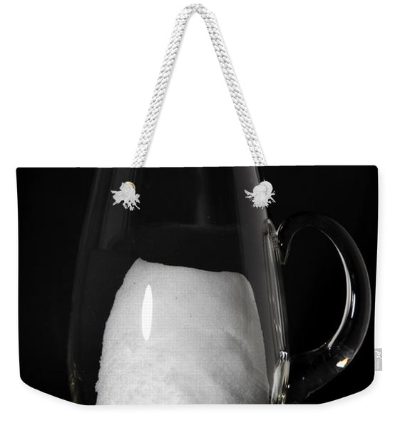 Snow Melting 3 Of 8 Weekender Tote Bag