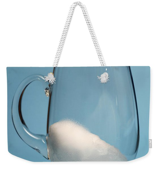 Snow Melting 4 Of 7 Weekender Tote Bag