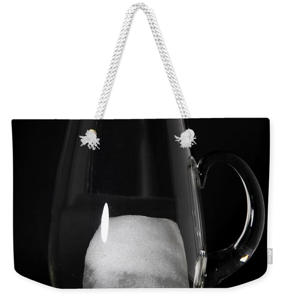 Snow Melting 4 Of 8 Weekender Tote Bag