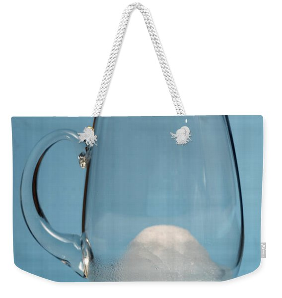 Snow Melting 5 Of 7 Weekender Tote Bag