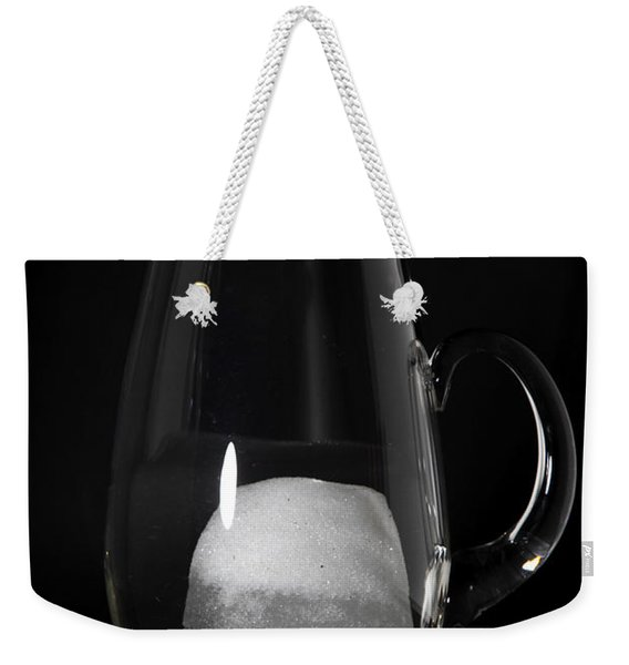 Snow Melting 5 Of 8 Weekender Tote Bag