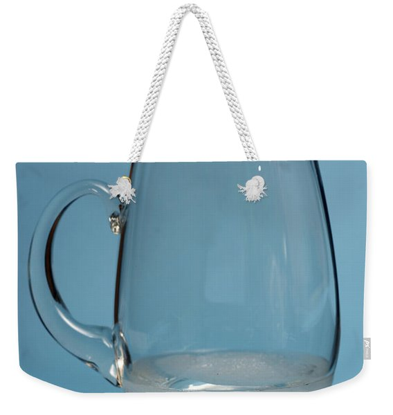 Snow Melting 6 Of 7 Weekender Tote Bag