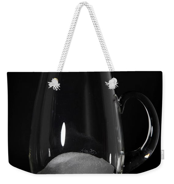 Snow Melting 6 Of 8 Weekender Tote Bag