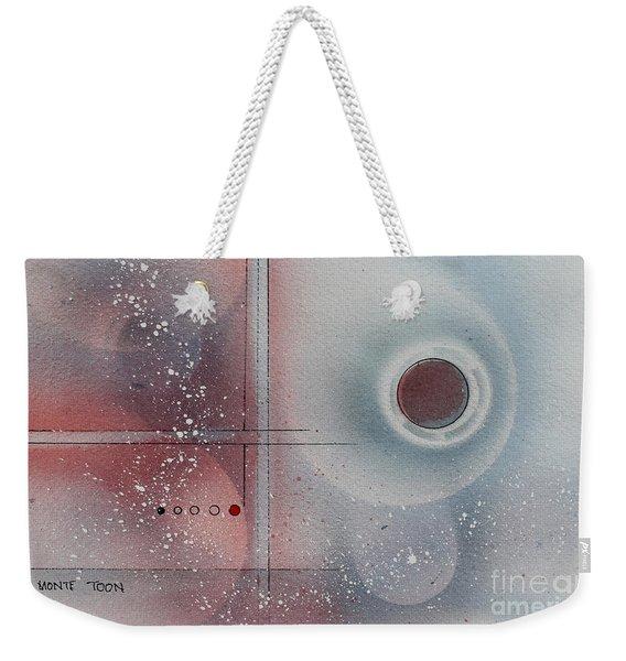 Snow Powder Weekender Tote Bag