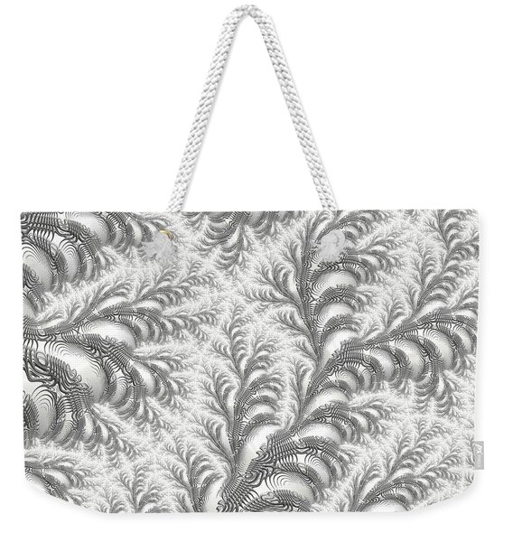 Snow Vines Weekender Tote Bag