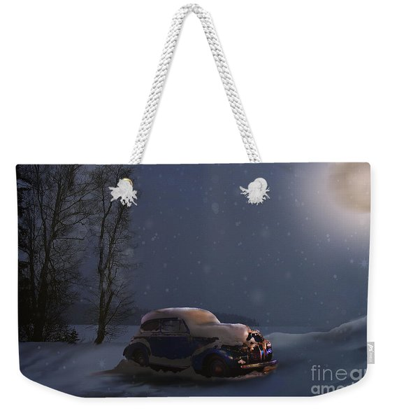 Snowed In Weekender Tote Bag