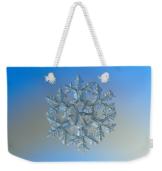 Snowflake Photo - Gardener's Dream Weekender Tote Bag