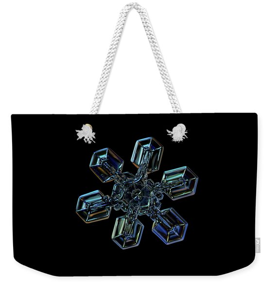 Snowflake Photo - High Voltage IIi Weekender Tote Bag