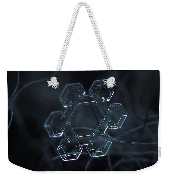 Snowflake Photo - Jewel Weekender Tote Bag
