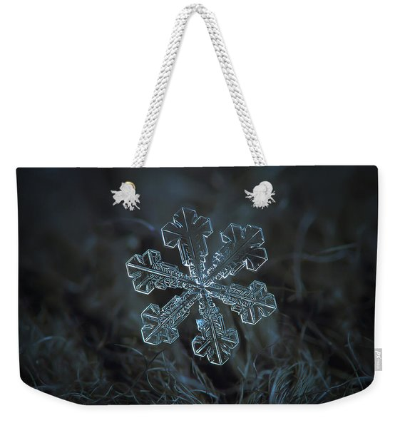 Snowflake Photo - Vega Weekender Tote Bag