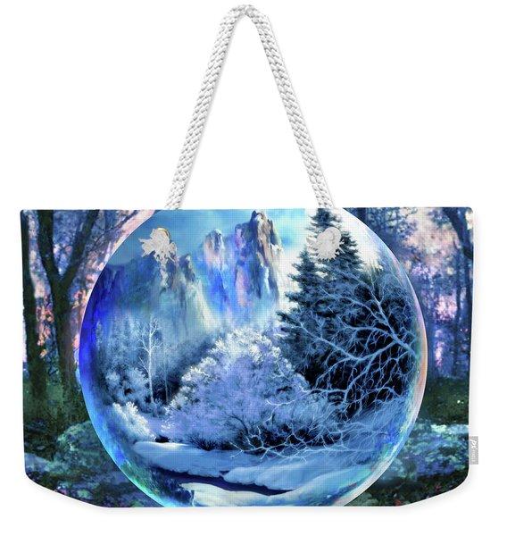 Snowglobular Weekender Tote Bag