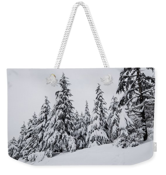 Snowy-1 Weekender Tote Bag