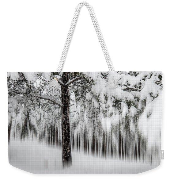Snowy-2 Weekender Tote Bag