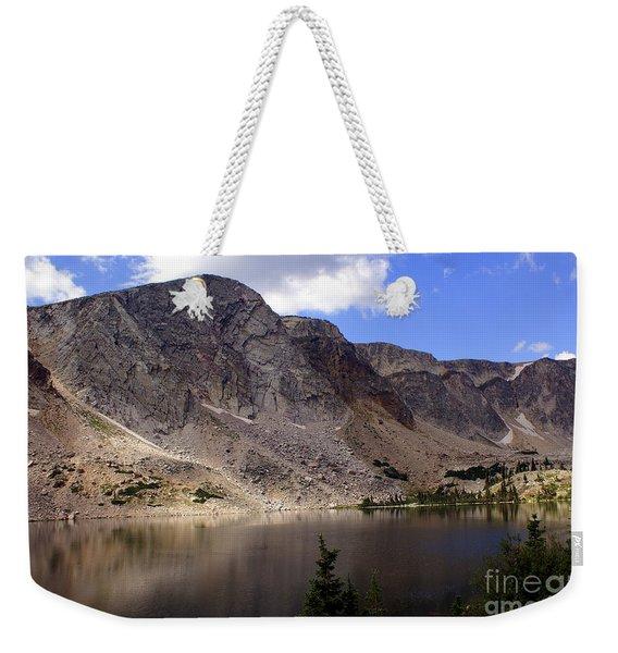 Snowy Mountian Loop 8 Weekender Tote Bag