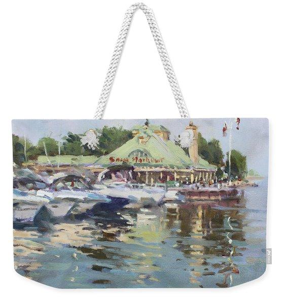 Snug Harbour Mississauga On Weekender Tote Bag
