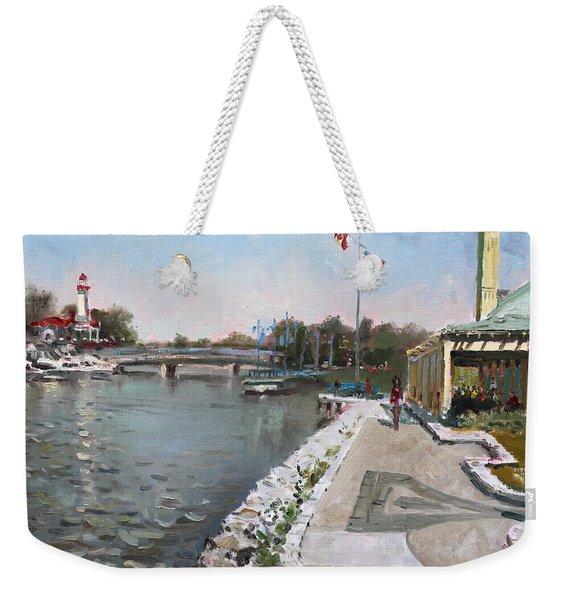 Snug Harbour Restaurant Weekender Tote Bag