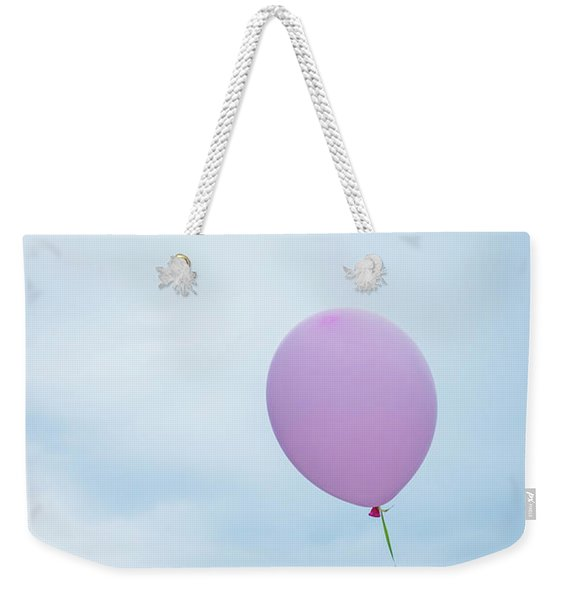 Weekender Tote Bag featuring the photograph So High by Robin Zygelman