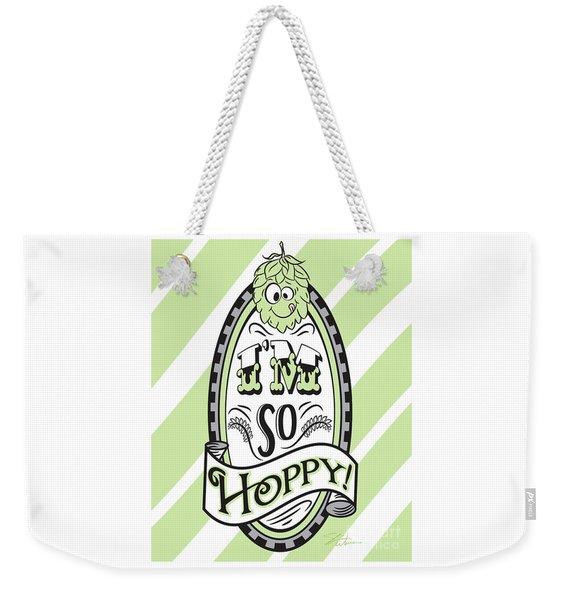 So Hoppy Weekender Tote Bag