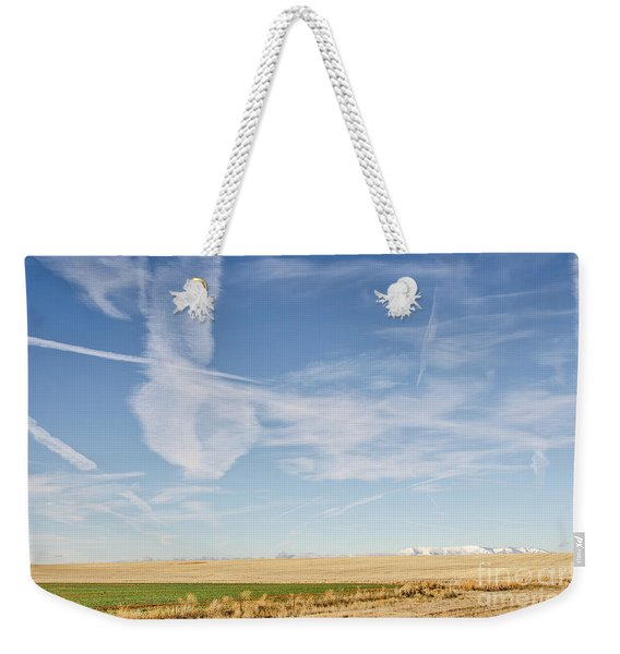 So Many Clouds And Contrails Weekender Tote Bag