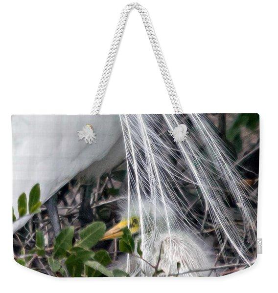 So Safe With Mom 2 Weekender Tote Bag