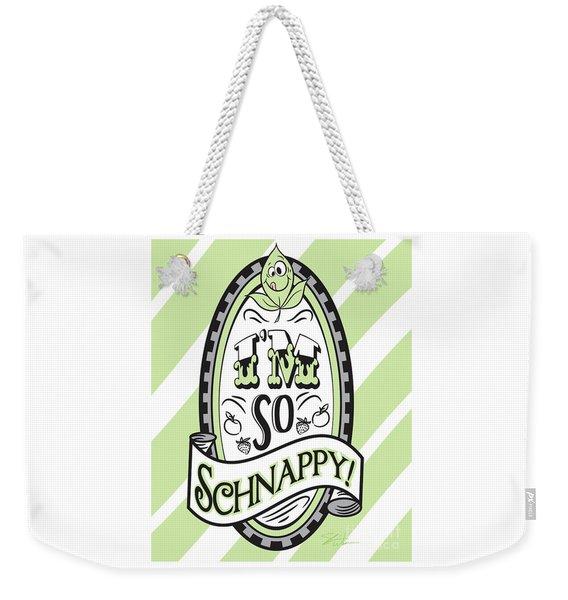 So Schnappy Weekender Tote Bag