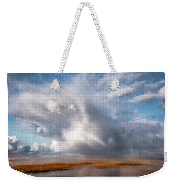 Soaring Clouds Weekender Tote Bag