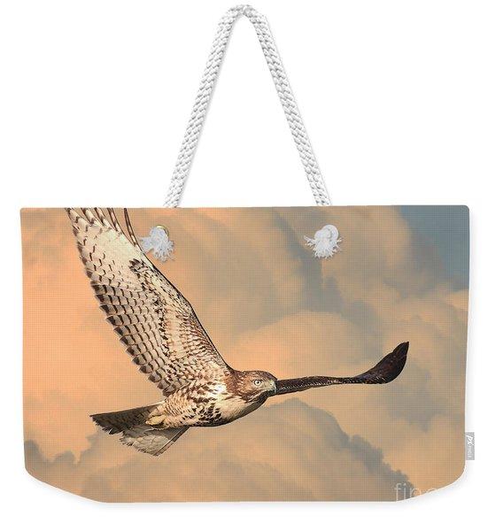 Soaring Hawk Weekender Tote Bag