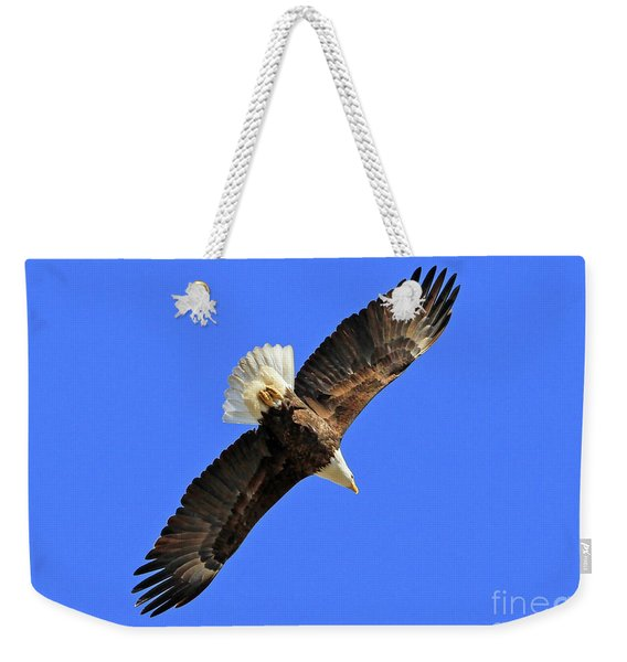 Soaring Into The Blue  Weekender Tote Bag