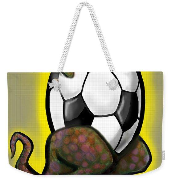 Soccer Zilla Weekender Tote Bag