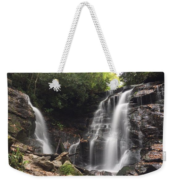 Soco Falls-landscape Version Weekender Tote Bag