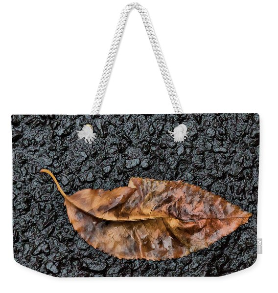 Sodden Leaf Weekender Tote Bag