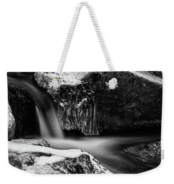soft and sharp at the Bode, Harz Weekender Tote Bag