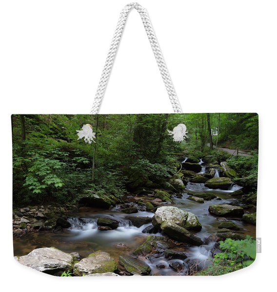 Soft Georgia Stream Weekender Tote Bag