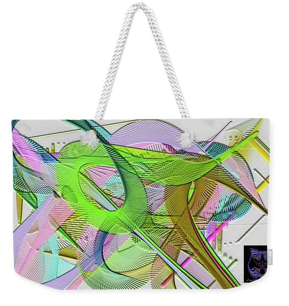 Weekender Tote Bag featuring the digital art Soft Light by Visual Artist Frank Bonilla